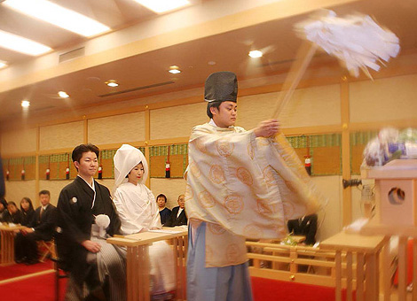 神前挙式 Shinto wedding