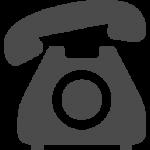 通話中の電話アイコン