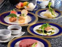 欅 四国フェアー2 甘鯛青さ海苔ソース