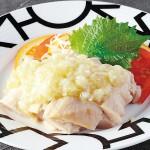 4.蒸し鶏の冷菜