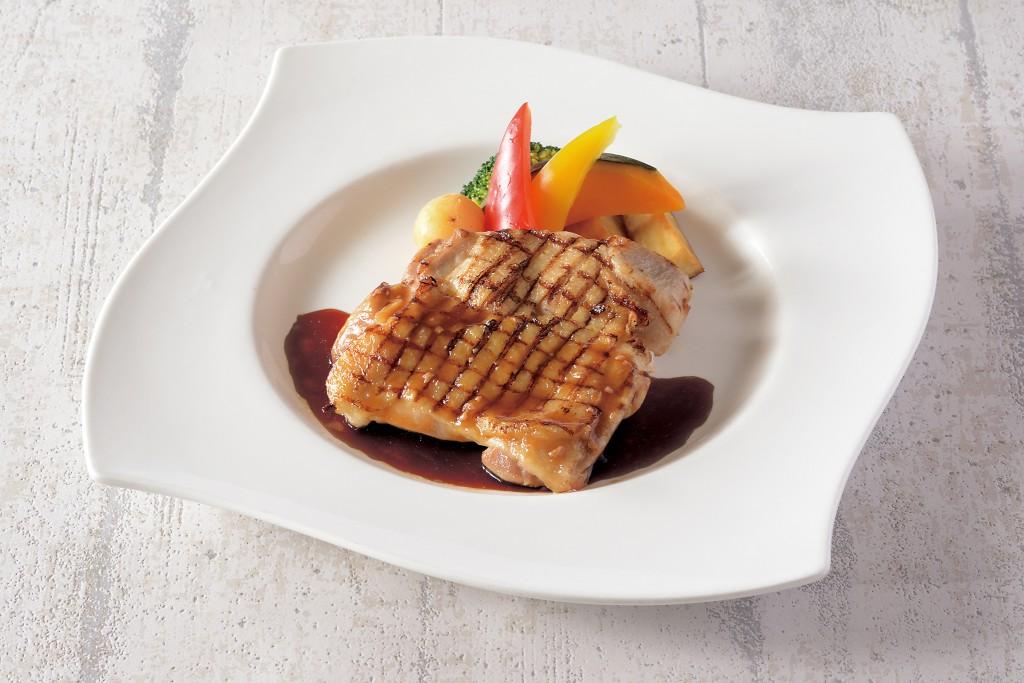 松山鶏のグリル デミソース